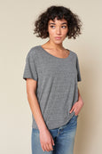 Boxy Tee <br> Heather Grey <br> *Final Sale*