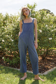 Dot Jumpsuit <br> Indigo Dot