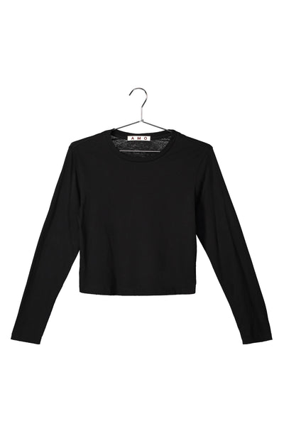 L/S Babe Tee <br> Black