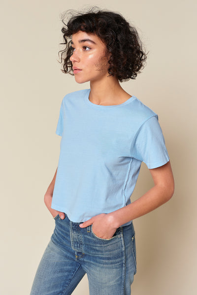 Babe Tee <br> Pool Blue