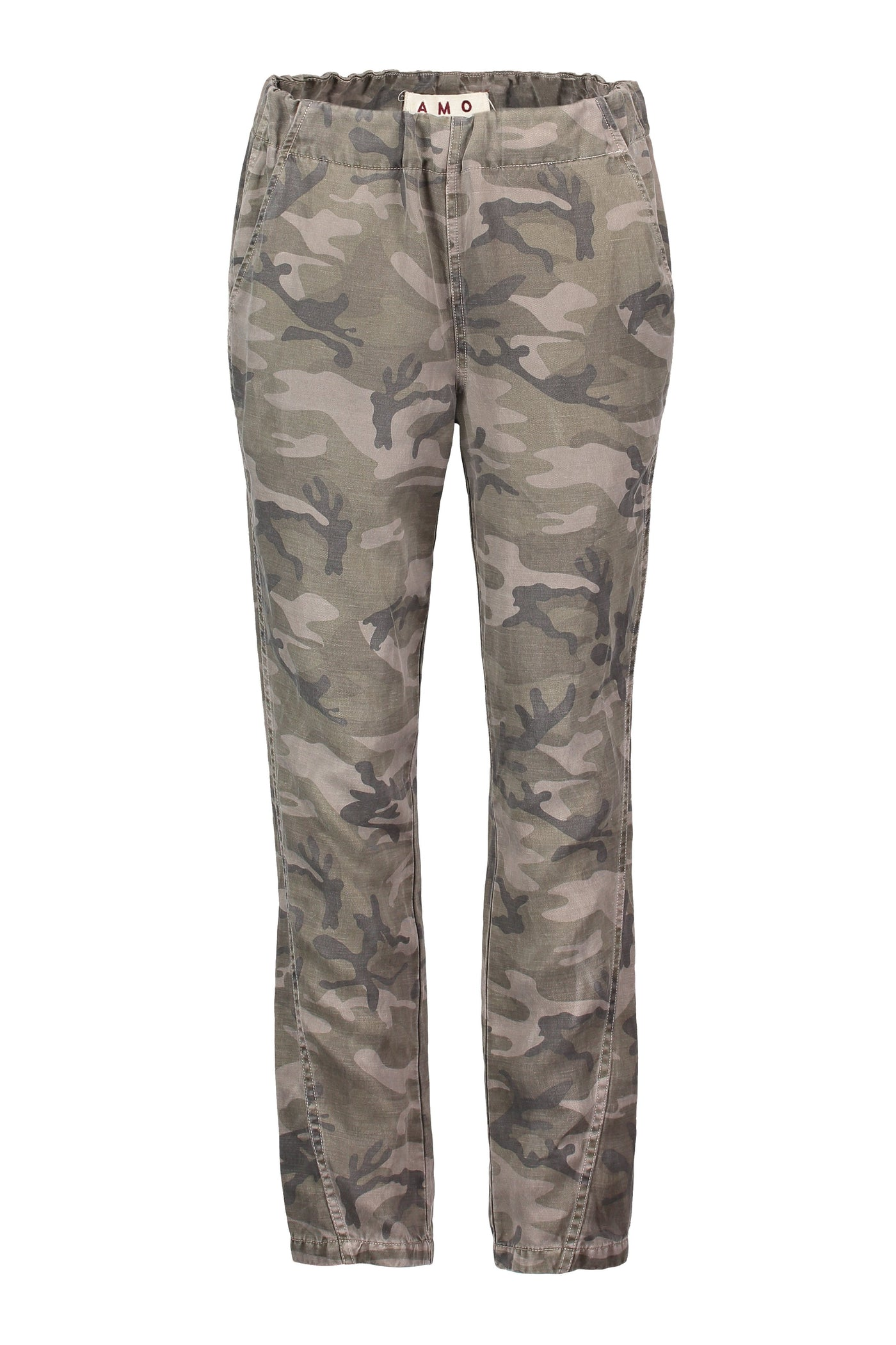 Pull-on Slouch Trouser <br> Warm Grey Camo <br> *Final Sale*