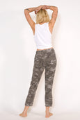 Pull-on Slouch Trouser <br> Warm Grey Camo