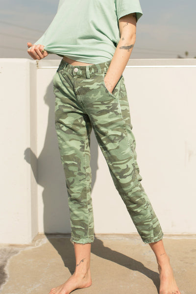 Slouch Trouser <br> Spring Camo <br> *Final Sale*