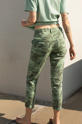 Slouch Trouser <br> Spring Camo