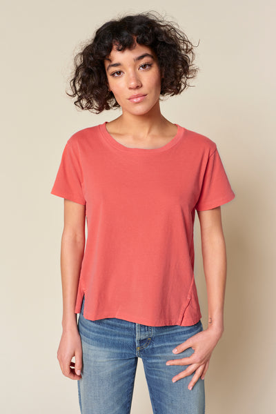 Sample Sale <br> Twist Tee <br> Faded Cayenne <br> *Final Sale*