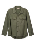 Army Shirt Jacket <br> Army Green