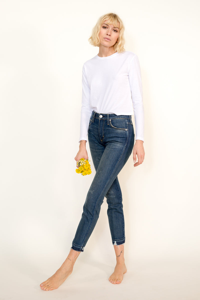 High Rise Stix Crop <br> Rambler
