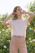 Babe Tee <br> Pale Pink