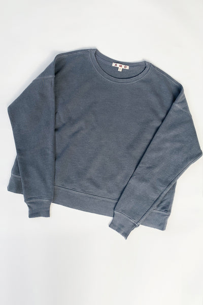 Classic Sweatshirt <br> Faded Black