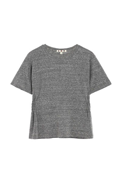 Girlfriend Tee <br> Heather Grey