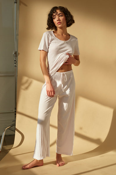 Lounge Pant <br> Off White