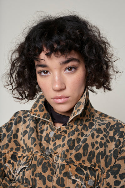 Sample Sale <br> Lulu Jacket <br> Leopard <br> *Final Sale