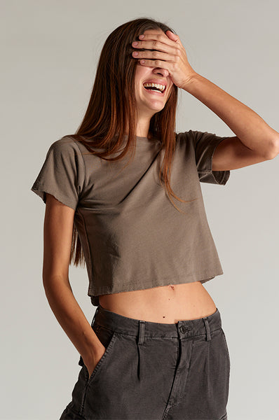 Babe Tee <br> Olive