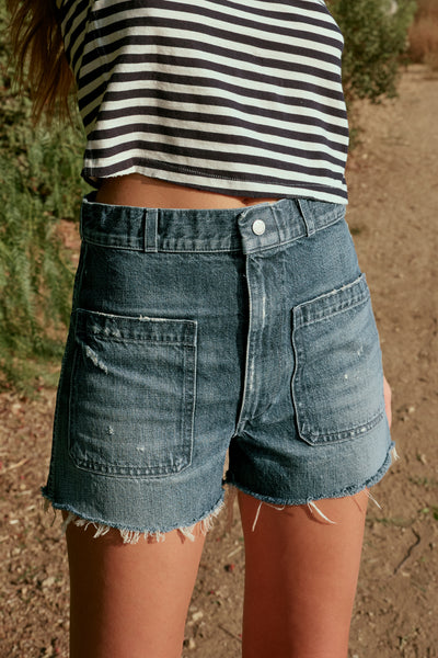 Sample Sale <br> Sailor Short Cut-offs <br> Overboard <br> *Final Sale*