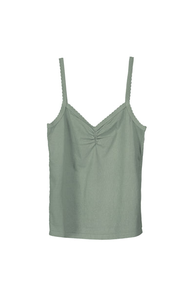 Scallop Knit Cami <br> Surplus