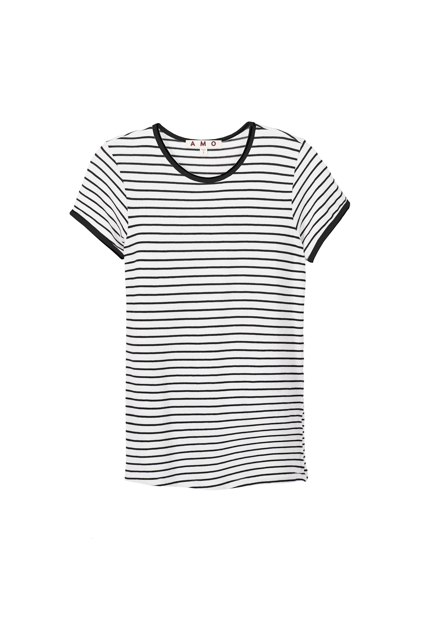 Fitted Baby Tee <br> Sweater Stripe