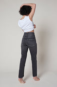 Tulip Jean <br> Washed Black <br> *Final Sale*