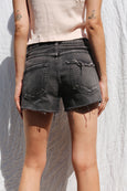 Classic Cut-offs <br> Washed Black