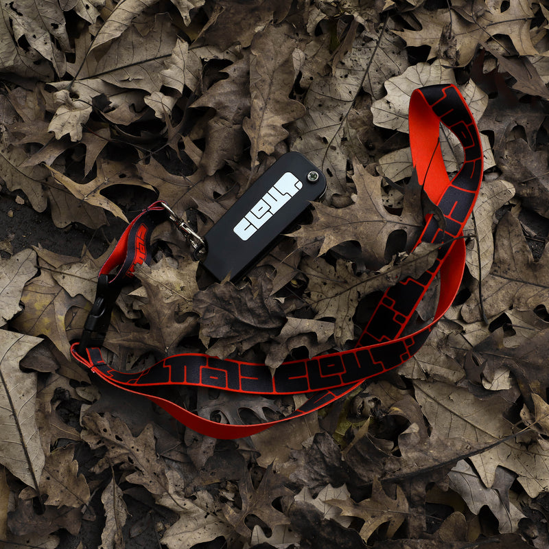 Clout Lanyard (Red)