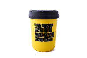 Clout x Restash Black & Yellow Jar 8oz