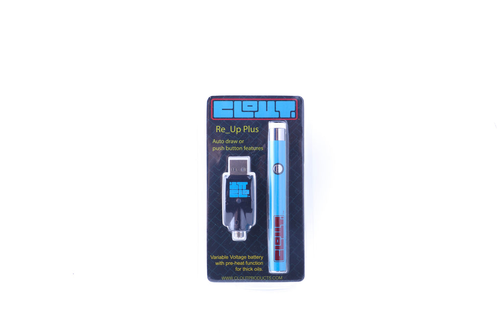Electric Blue Re_Up Plus for 510 Threaded Cartridges