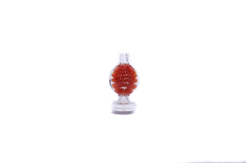 Clout Red Bubble Carb Cap
