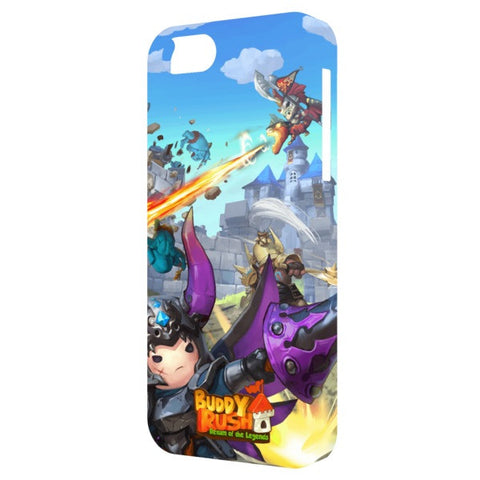 Ares and Dragon Buddy Rush iPhone 5 Case