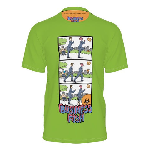 Party Rock Business Fish Shirt front