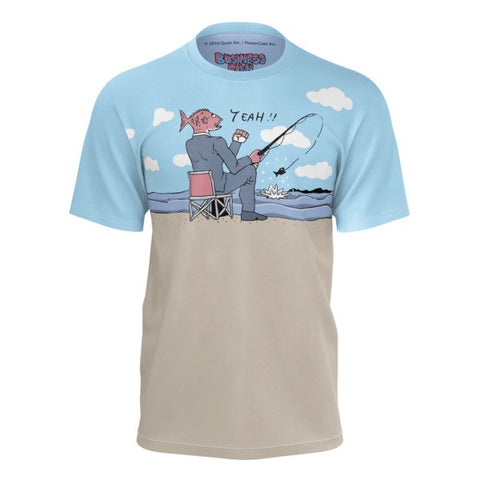 Fish Fishing for Fish Business Fish Shirt front