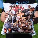Group Shot Battle Tails Pillow