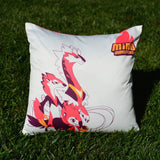 Blazel Fire Stone MinoMonsters Pillow grass
