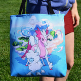 Cloudles and Starwind MinoMonsters Tote Bag