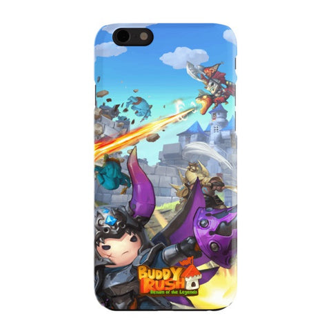 Ares and Dragon Buddy Rush iPhone 6 Case