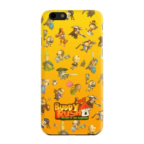 Minies Buddy Rush iPhone 6 Case