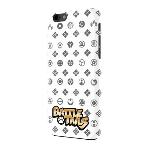 Classy Battle Tails iPhone 6+ Case