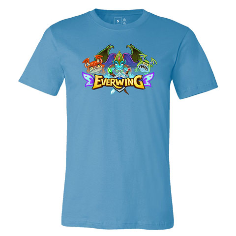 EverWing Logo with Monster Queen Shirt