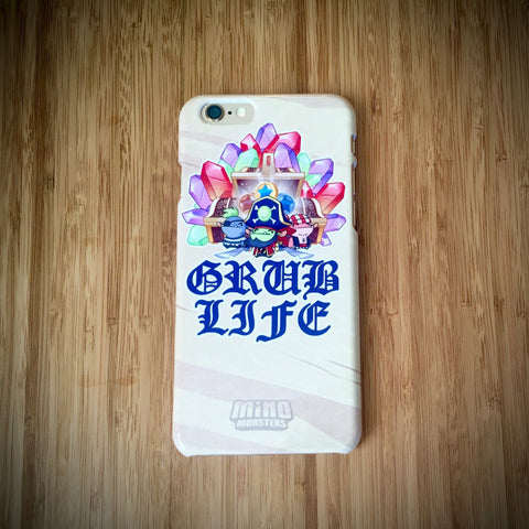 Grub Life MinoMonsters iPhone 6 Case