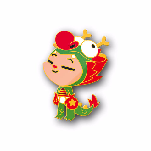 Martin Hsu's Dragon Boy Pin by PowerCore