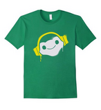 Overwatch Lucio Headphones Spray Tee Shirt