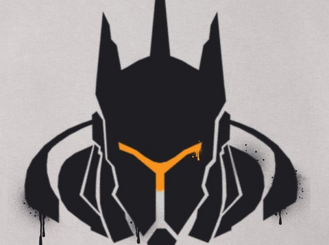 Overwatch Reinhardt Vigilant Spray Tee Shirt