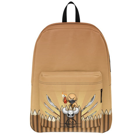 Armed Wall Battle Tails Backpack