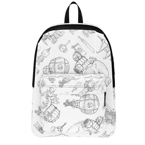 Sketches Battle Tails Backpack front