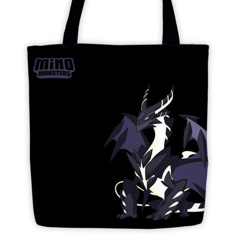 Glaring Ragnarath MinoMonsters Tote Bag front