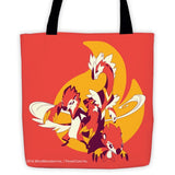 Blazel Fire Stone MinoMonsters tote Bag