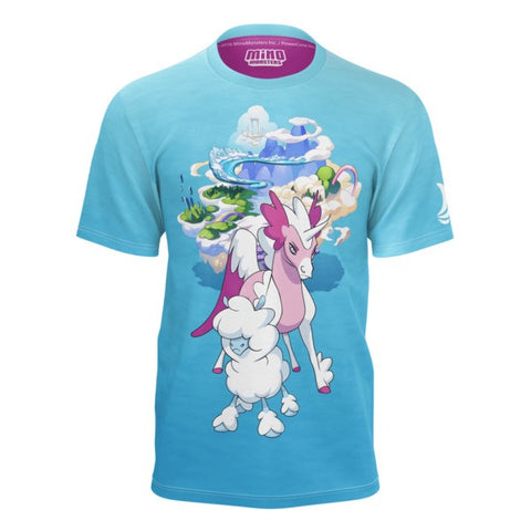 Cloudles and Starwind MinoMonsters Shirt front