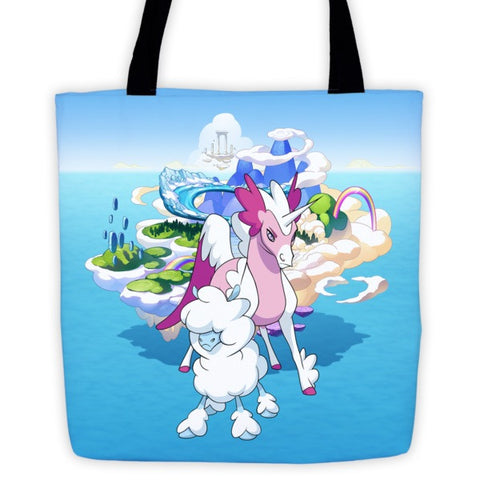 Cloudles and Starwind MinoMonsters Tote Bag front