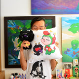 Martin Hsu's Dragon Boy + Dragon Dog Pillow
