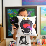 Martin Hsu's Dragon Dog Pillow