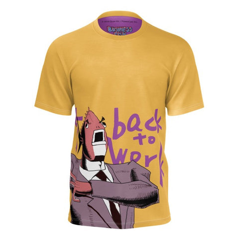 Get Back to Work! Business Fish Shirt front