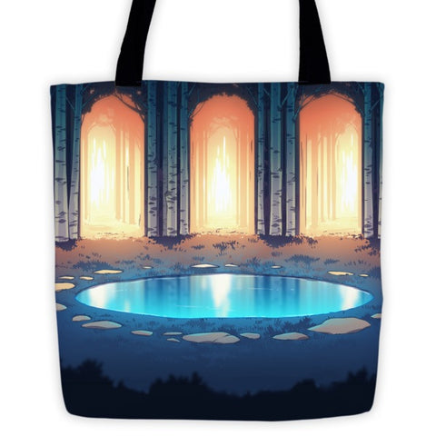 Magic Pool MinoMonsters Tote Bag front